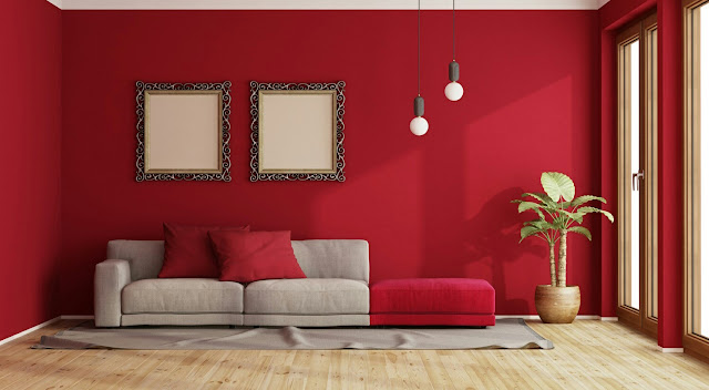 Red Heart House Paint