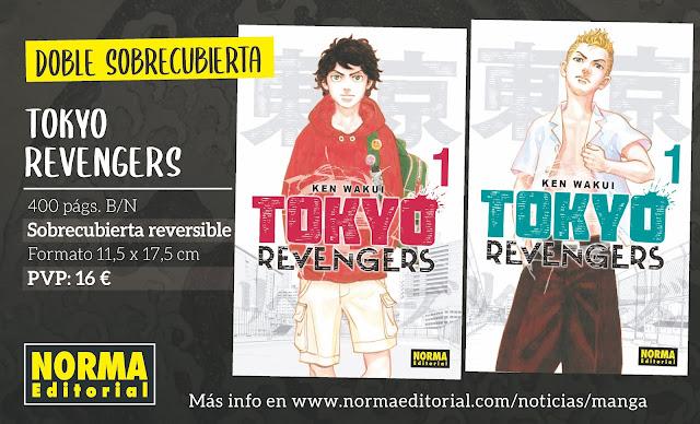 ¡Norma Editorial licencia TOKYO REVENGERS!
