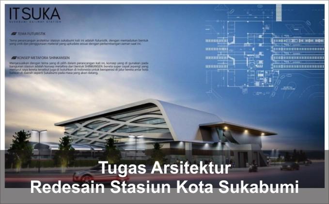 redesain stasiun kota sukabumi