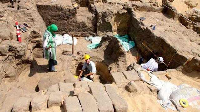 مقبرة قويسنا أحدث الاكتشافات الأثرية بمصر