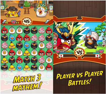 Angry Birds Fight! RPG Puzzle v2.4.0 Apk Mod [Dinero]