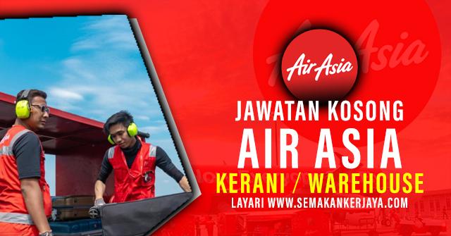 Air Asia Vacancies 2021