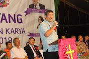 Perkemahan Karya Pemuda GMIM di Tontalete, Wagub Ajak Pemuda Tingkatkan Kualitas Iman