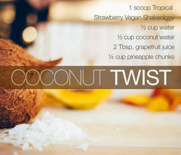 Coconut Twist Shakeology