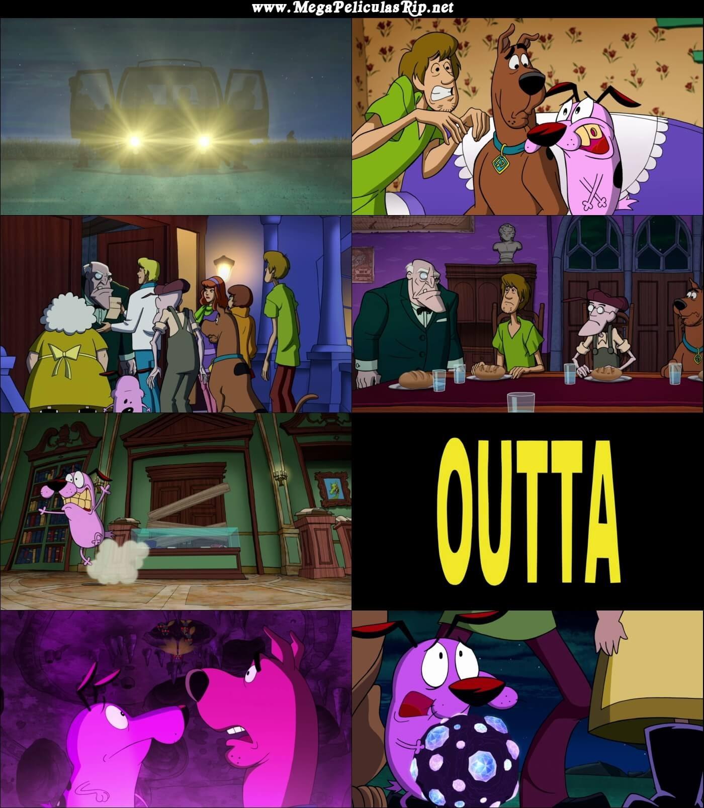 De La Nada Scooby Doo Conoce A Coraje El Perro Cobarde 1080p Latino