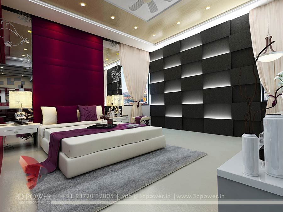 Attirant 3D High Class Architectural Interior Bedroom Designs By   3D Power