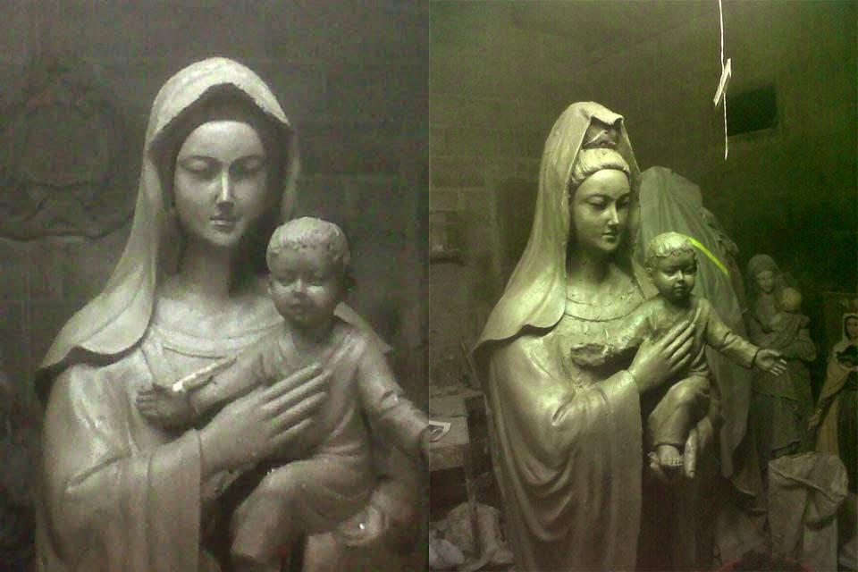 patung maria china