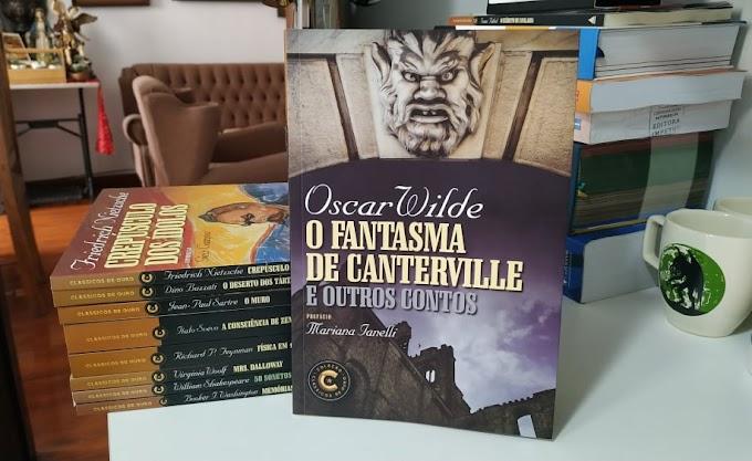 [RESENHA #840] O FANTASMA DE CANTERVILLE E OUTROS CONTOS - OSCAR WILDE