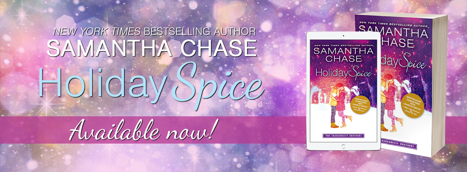 Lauren's Crammed Bookshelf: Release Day Launch: Holiday Spice by ...
