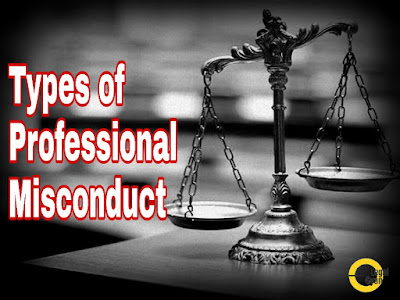Types of Professional Misconduct