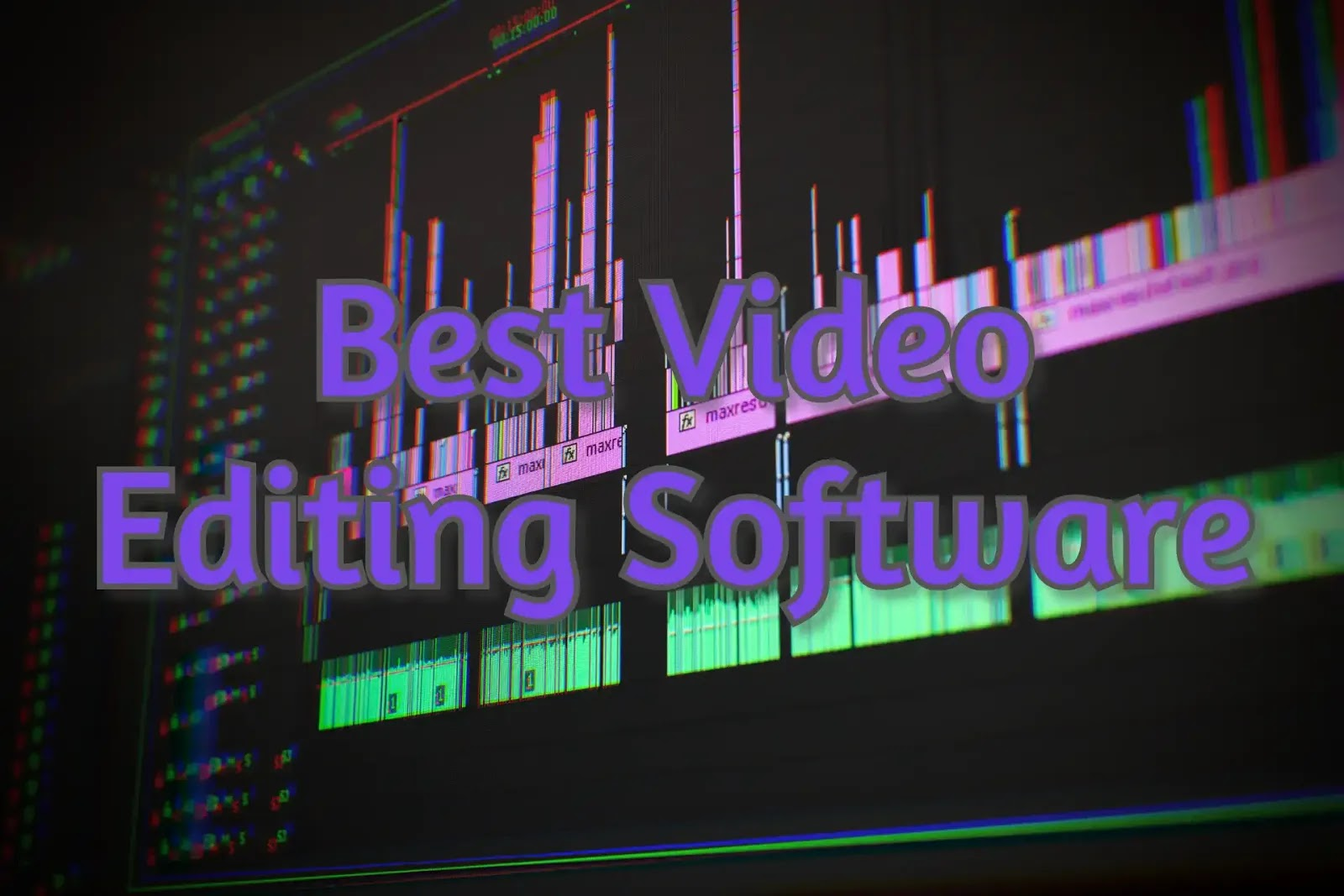 Top 5 Best Video Editing Software Program for Beginners