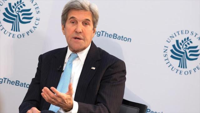 Kerry: EEUU perderá liderazgo si Trump no respeta pacto con Irán