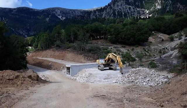 Θεσπρωτία: Με ταχείς ρυθμούς προχωρά το έργο σύνδεσης του ιστορικού Σουλίου με την Εγνατία