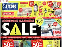 JYSK Flyer Bed Bath Home valid July 20 - 26, 2017