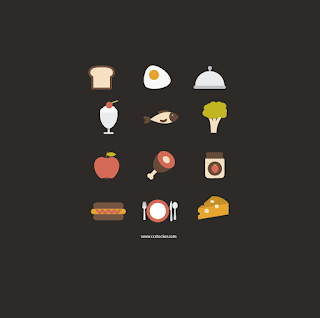 Free Food and Cooking Icon Sets for  Apps and Websites 03