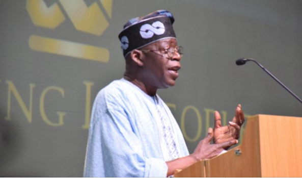 Image result for Tinubu mocks Agbaje: Those who said they wanted freedom should go and learn vulcanising