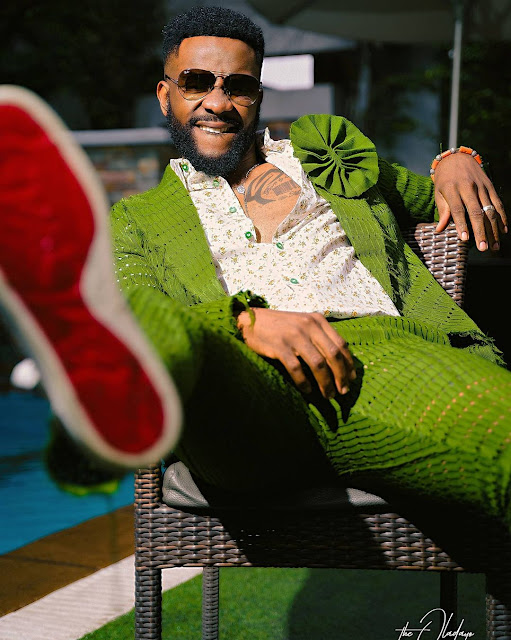 Check out the Outfit of Ebuka Uchendu which got social media users talking
