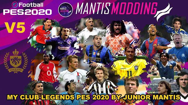 PES 2020 MyClub Legends by Junior Mantis