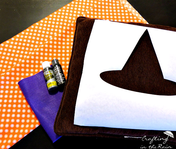 Sew a Halloween Pillow by Crafting in the Rain
