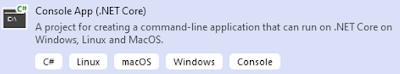 Console App (.NET Core)