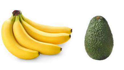 Homemade Hair Conditioner one ripe banana and one ripe avocado