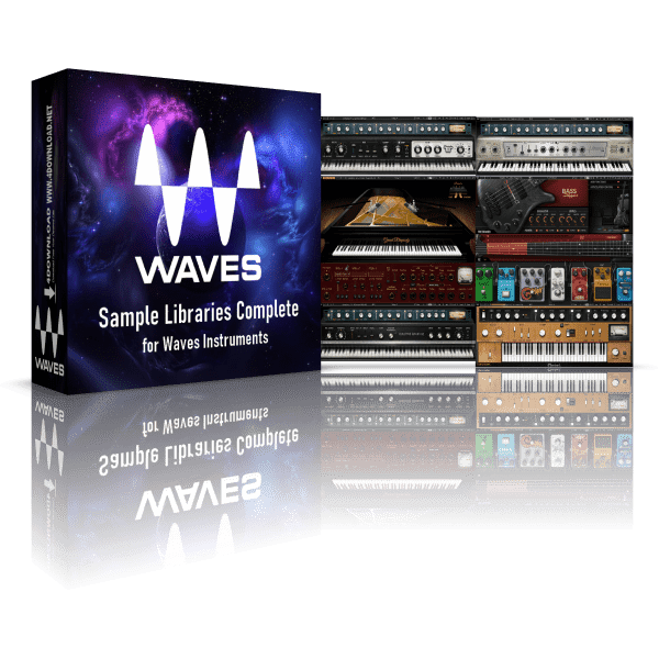 Waves Sample Libraries Complete for Waves Instruments