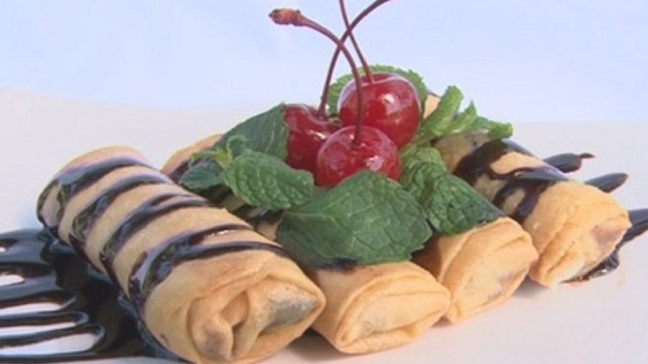 Resep Lumpia Coklat Pisang, Renyah dan Lumer