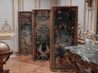 Georgian Embroidered Screen, baroque, furniture, privacy screen, Getty, Georgian Embroidered Screen, baroque, furniture, privacy screen, Getty, writing, novel, book, how to