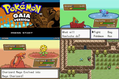 Pokemon Gaia GBA ROM Download
