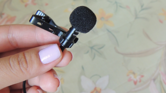microfone lapela youtuber
