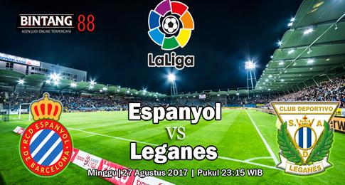 PREDIKSI SKOR  Espanyol vs Leganes 27 Agustus 2017