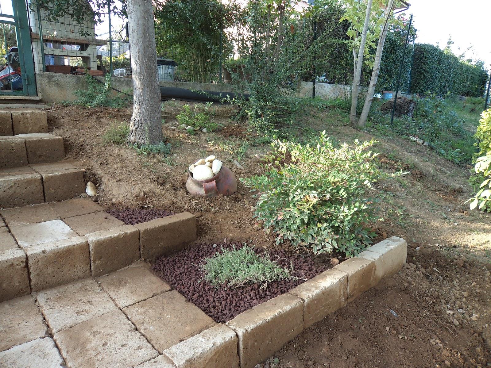 I giardini di carlo e letizia il giardino di claudia e for Giardini in pietra