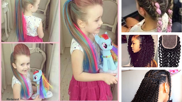 Cómo lidiar con una pequeña niña rizada con cabello rebelde