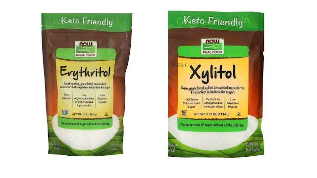 الفرق بين سكر زيليتول وإريثريتول، وأيهما أفضل؟