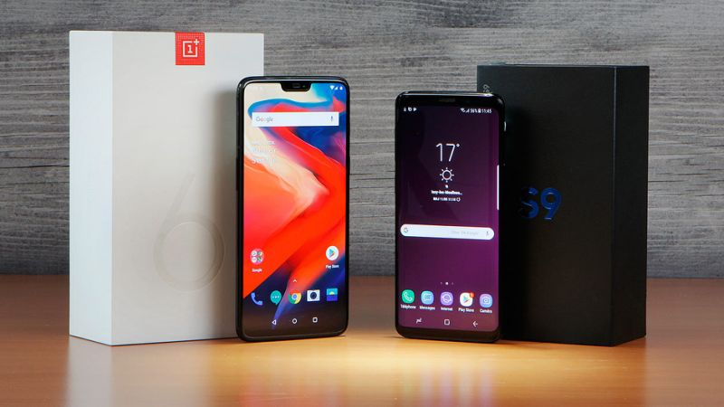 OnePlus 6 vs Samsung Galaxy S9 Plus - Specs, Features, reviews and price