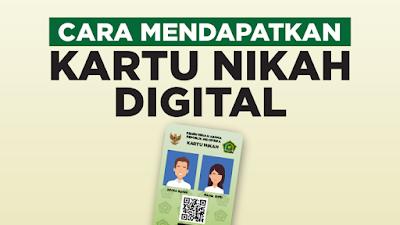 Tips dan Trik  Cara Mendapatkan Kartu Nikah Digital