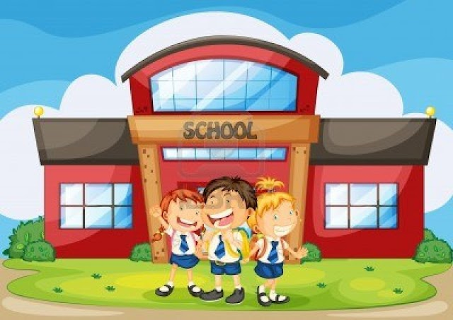 بالعناصر :: موضوع تعبير عن المدرسة والمحافظة عليها  !