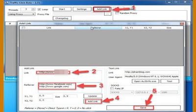 تحميل برنامج Traffic click botz للحصول على آلاف الزيارات لموقعك