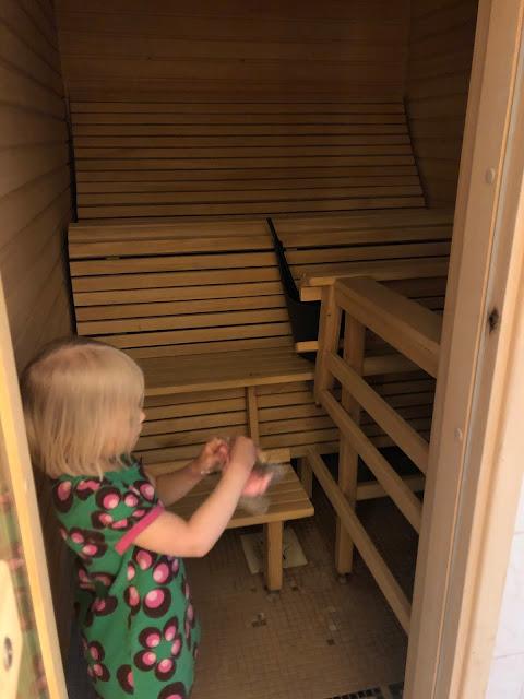 Holiday Club Caribia perhehuone sauna
