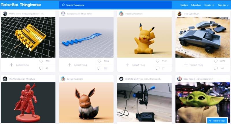 تحميل-تصميمات-ثلاثية-الأبعاد-جاهزة-موقع-Thingiverse