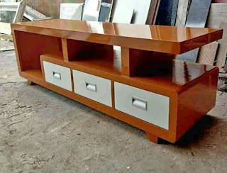 bufet buffet buvet bupet kabinet almari tv minimalis kayu jati