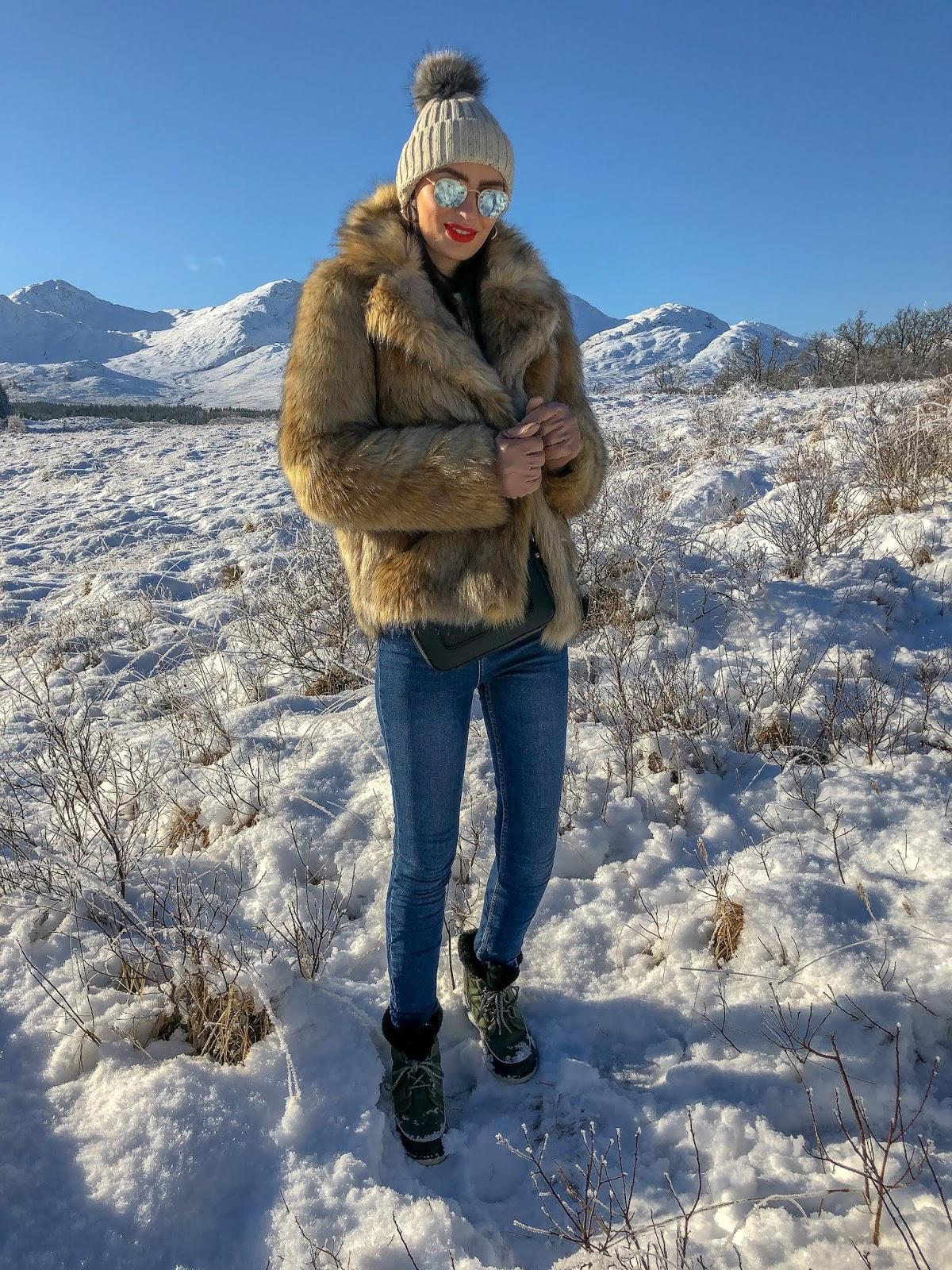 winter snow style
