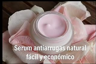 Serum antiarrugas natural