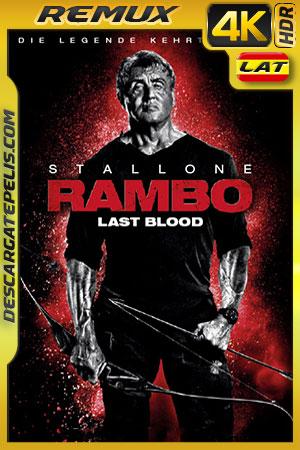 Rambo: Ultima Misión (2019) 4k BDRemux HDR Latino – Ingles