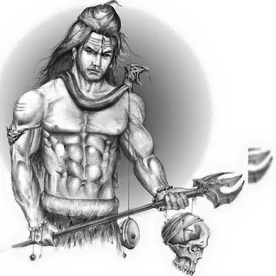 Lord Shiva Sketches, Drawing and Pics Art