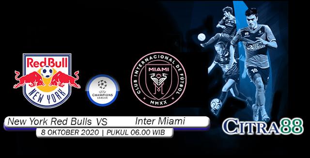 Prediksi Bola New York Red Bulls vs Inter Miami 8 Oktober 2020