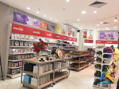 projeto arquitetura mobiliário expositor loja utilidades decoração