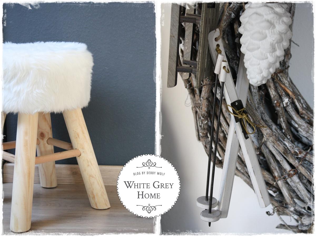 white grey home winterdeko. Black Bedroom Furniture Sets. Home Design Ideas