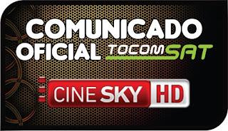 Comunicado Oficial Tocomsat