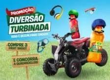 Promoção Sucos Maguary Fruit Shoot Diversão Turbinada - Quadriciclos